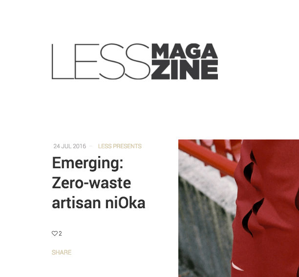 Less magazine